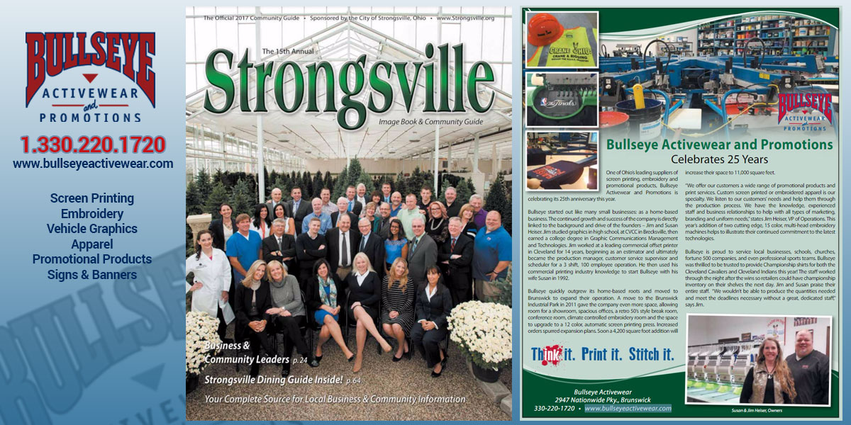 25th Anniversary Feature - Strongsville Image Book