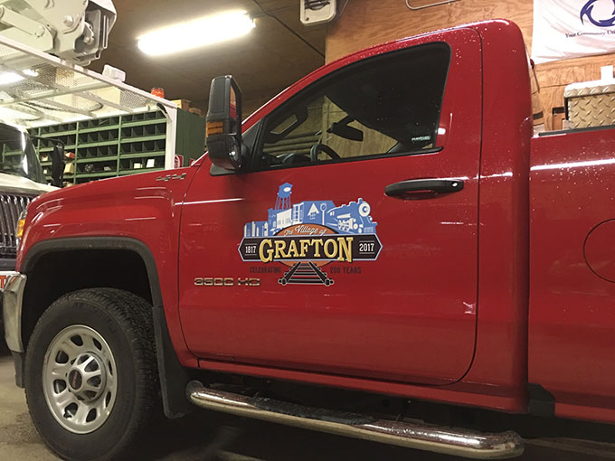 Village of Grafton Vehicle Decal Printing